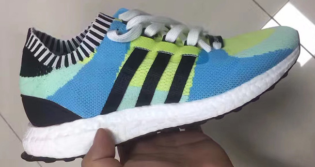 Verde blu delle donne eqt impulso scarpe adidas