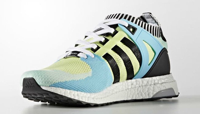 adidas EQT Support Ultra Boost Primeknit Semi Frozen Yellow