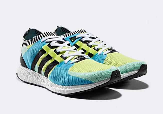 adidas EQT Support Ultra Primeknit Frozen Yellow Green May 1st
