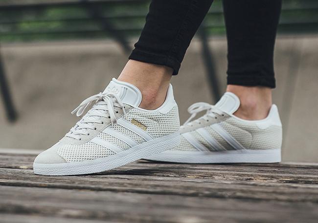 adidas Gazelle Mesh Off-White