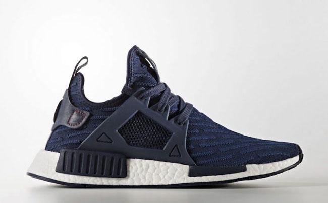 adidas NMD XR1 Primeknit Collegiate Navy BA7215 | SneakerFiles
