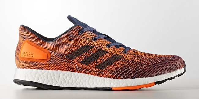 adidas Pure Boost DPR Warning Orange Collegiate Navy