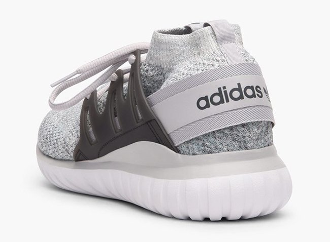 Adidas Originals Tubular Nova PK Primeknit Triple White Shoes Men