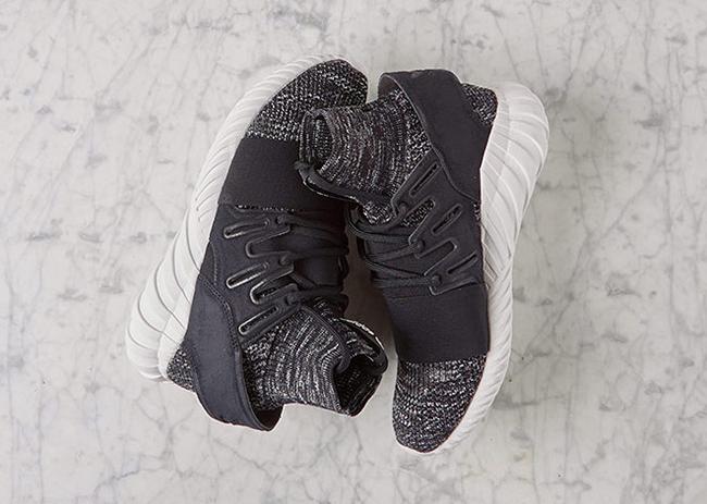 Cheap Adidas Originals Tubular Doom Primeknit Heathered Grey