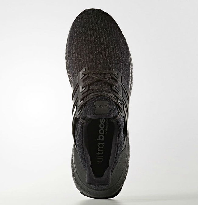 adidas Ultra Boost 3.0 Triple Black Release Date