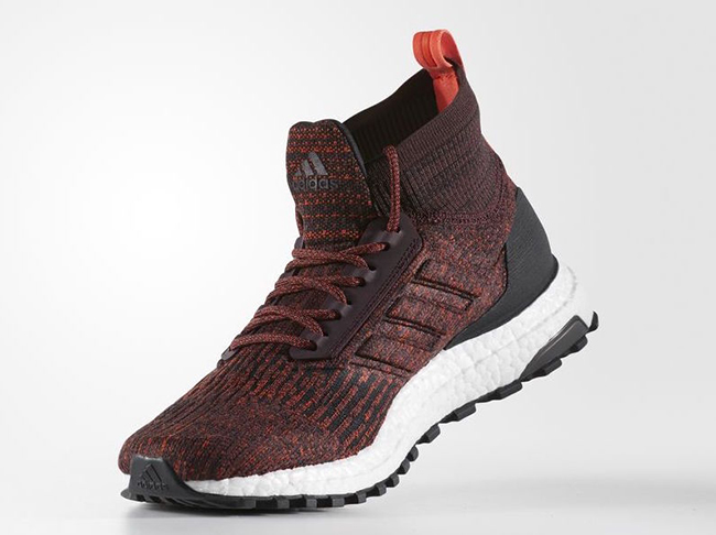 adidas Ultra Boot Mid ATR Dark Burgundy