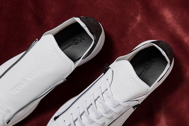 adidas Y-3 Stan Smith Zip Black White