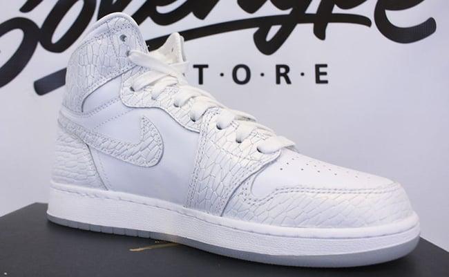 Air Jordan 1 Frost White