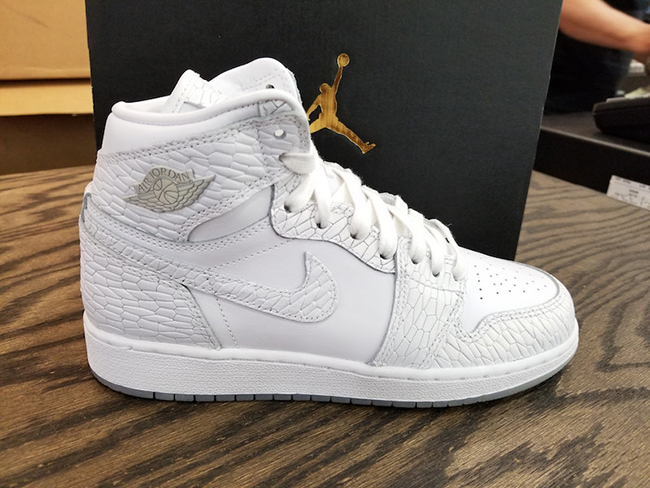 Air Jordan 1 Frost White May 2017