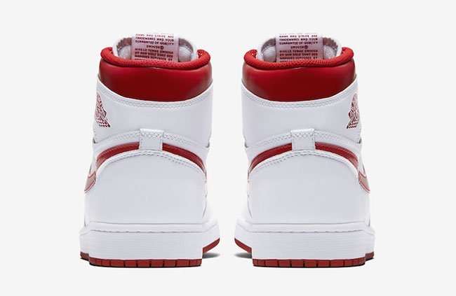 Air Jordan 1 Metallic Red 555088-103