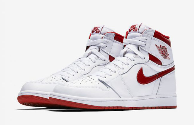 Air Jordan 1 OG Metallic Red May 2017