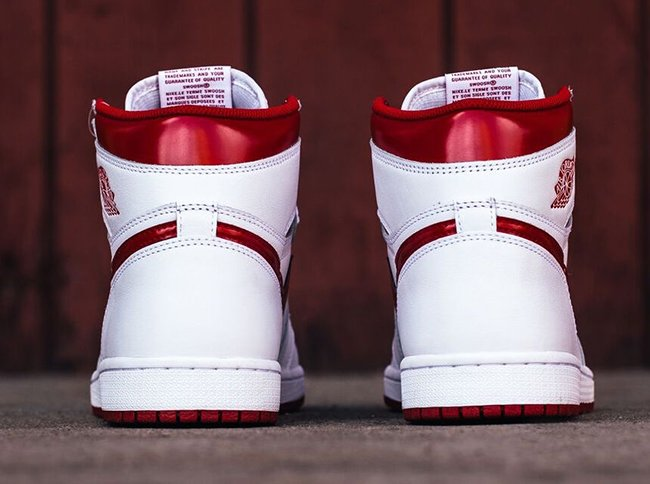 Air Jordan 1 Retro High OG Metallic Red 2017 Release
