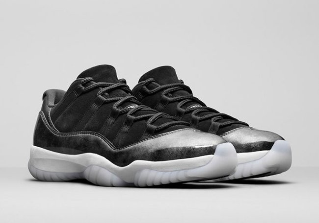 Air Jordan 11 Low Barons May 2017