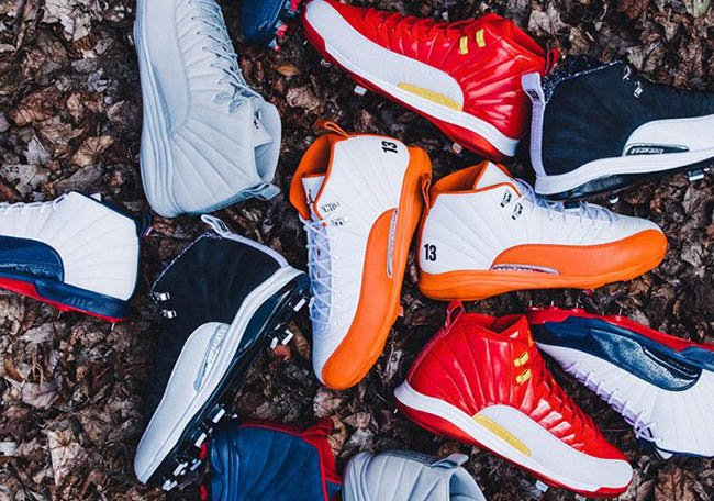 Air Jordan 12 MLB Opening Day 2017 Collection  6d4f42d873