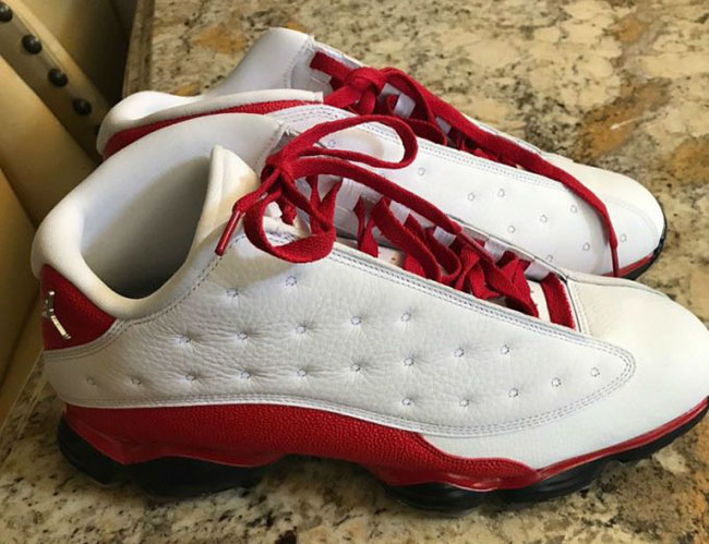 Check Out the Air Jordan 13 Low Golf Shoes