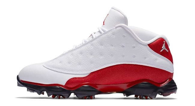 Air Jordan 13 Low Golf White Red