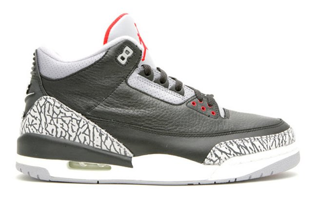 Air Jordan 3 OG Black Cement Nike Air 2018 Release Date
