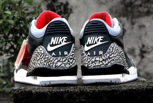 Air Jordan 3 OG Black Cement Nike Air 2018 Release Date