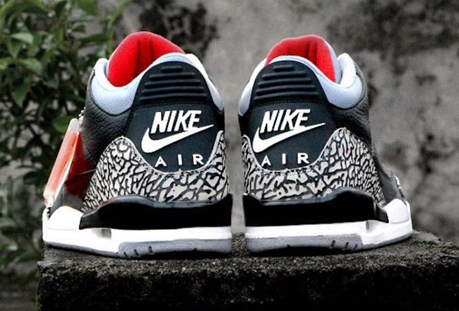 timeless design e1919 1135b Air Jordan 3 OG Black Cement 2018 Release Date | SneakerFiles