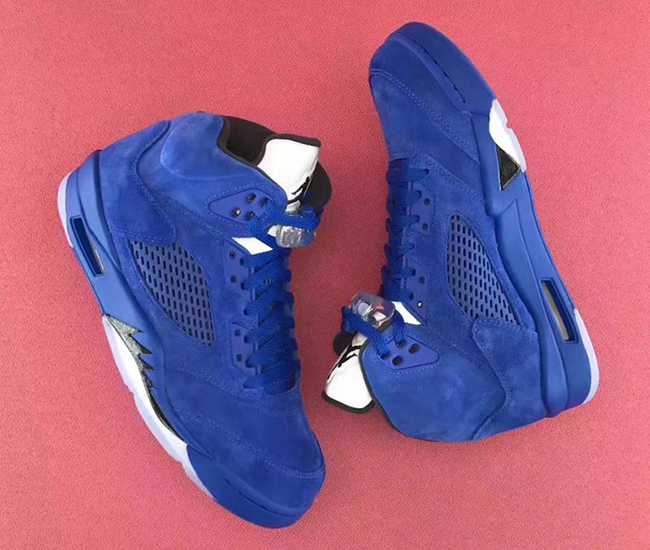 Air Jordan 5 Blue Suede Game Royal 136021-401