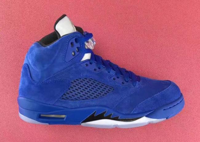 Air Jordan 5 Blue Suede Game Royal 136021-401