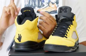 Air Jordan 5 Michigan Fab 5