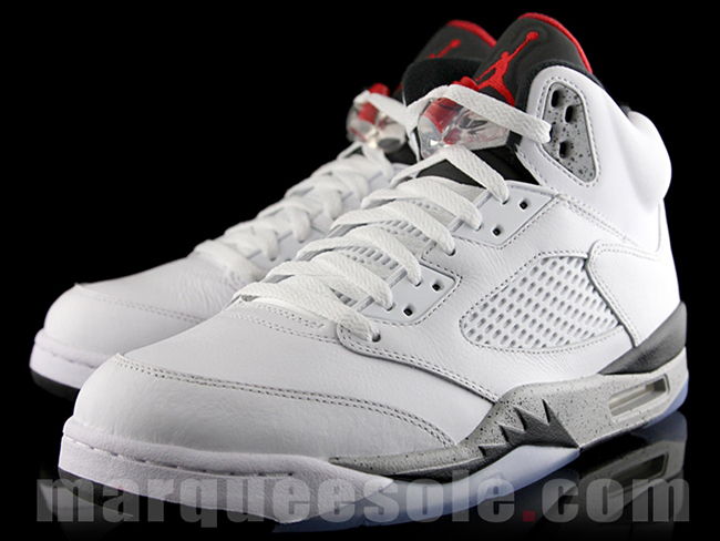 brand new a6959 395ac Air Jordan 5 White Cement 136027-104 Release Date | SneakerFiles