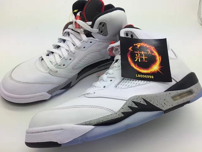Air Jordan 5 White Cement Release Date