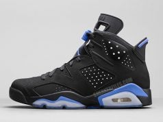 Air Jordan 6 UNC Black University Blue Release Date