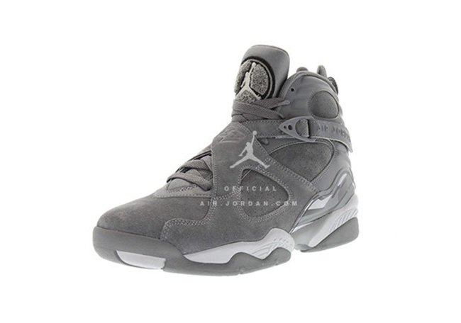 Air Jordan 8 Cool Grey Wolf Grey Release Date
