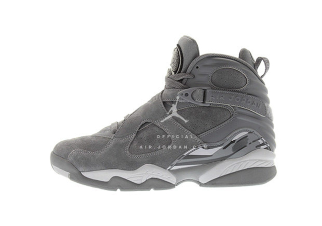 First Look: Air Jordan 8 'Cool Grey'