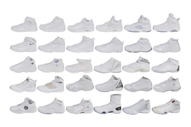 Air Jordan Kobe White Pack Auction