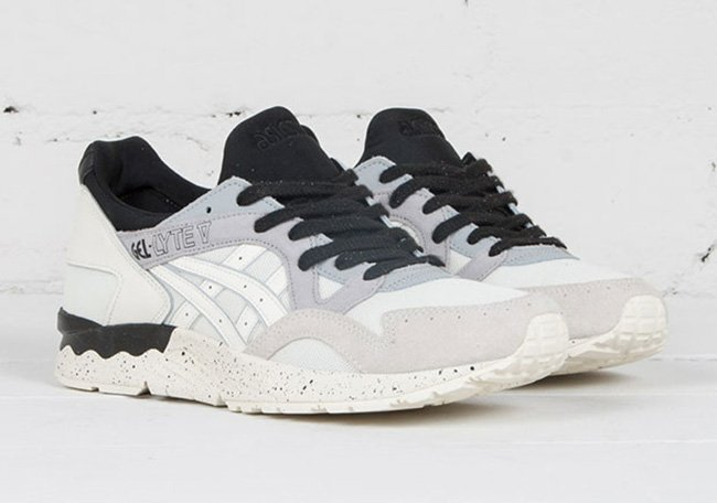 Asics Gel Lyte V Cookies and Cream Black White