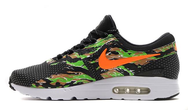 atmos Nike Air Max Zero ID Safari Tiger Camo Snake