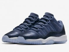 Blue Moon Air Jordan 11 Low GS