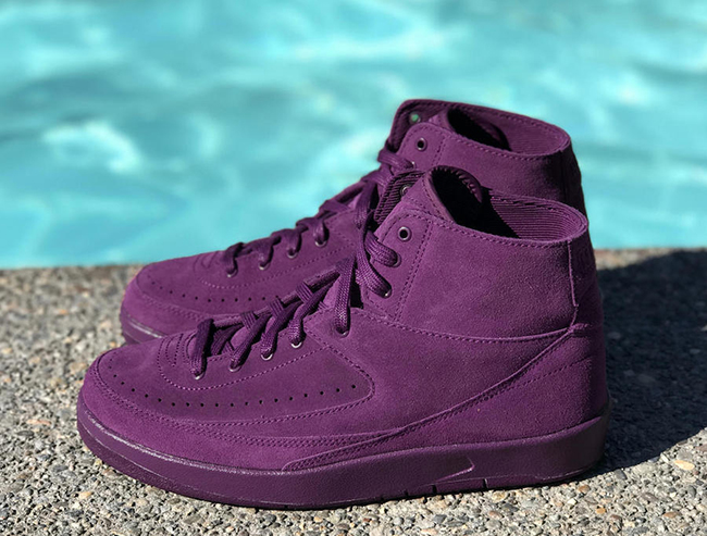 Bordeaux Air Jordan 2 Decon