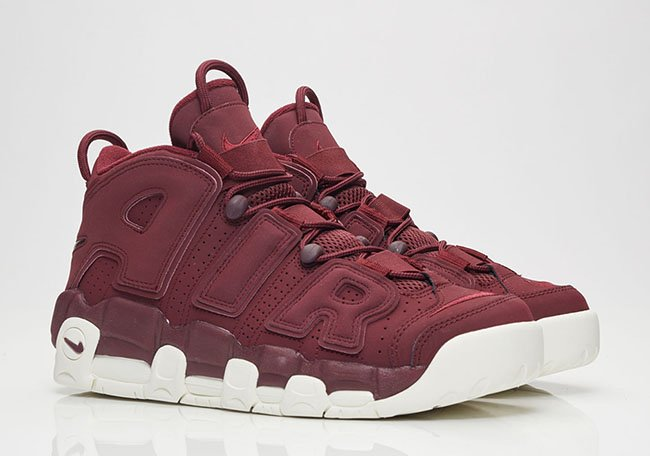 Bordeaux Nike Air More Uptempo Night Maroon