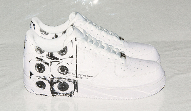 Comme des Garcons Supreme Nike Air Force 1 Low