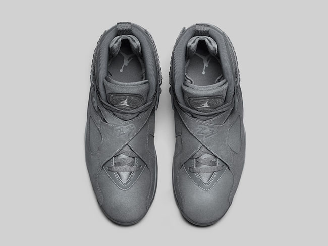 Cool Grey Air Jordan 8