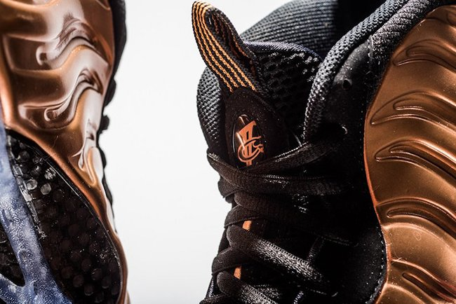 Copper Nike Foamposite One