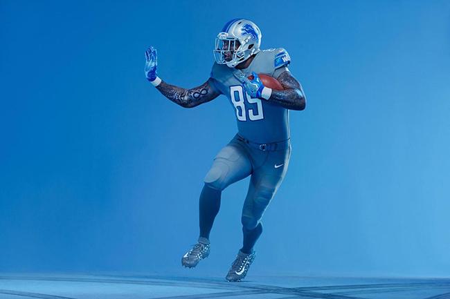 Detroit Lions Nike Vapor Untouchable Uniforms