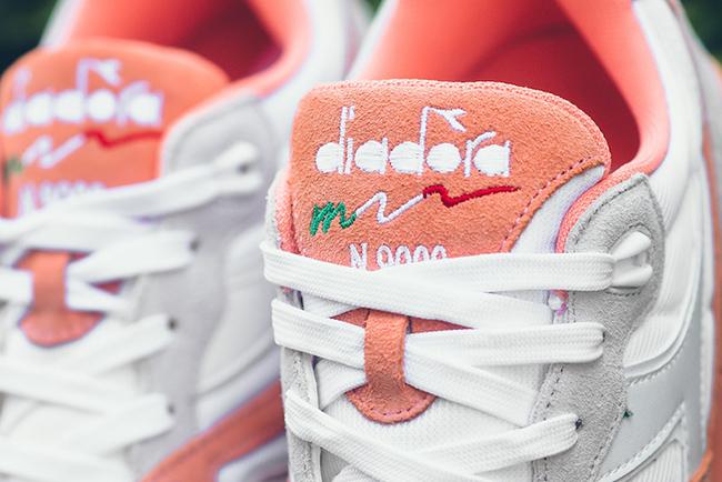 Diadora N9000 III White Peach