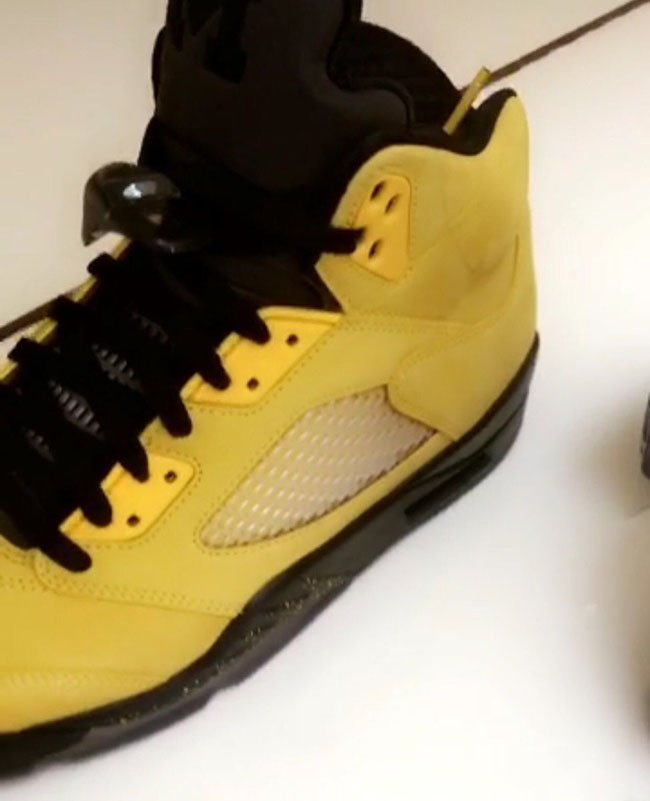 Fab 5 Air Jordan 5 Michigan