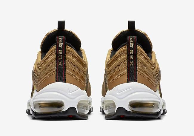 Gold Nike Air Max 97 2017
