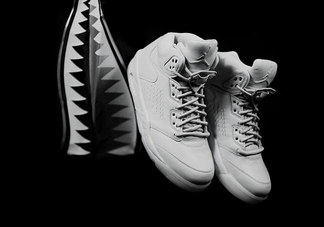 Jordan 5 Premium Retro Pure Platinum