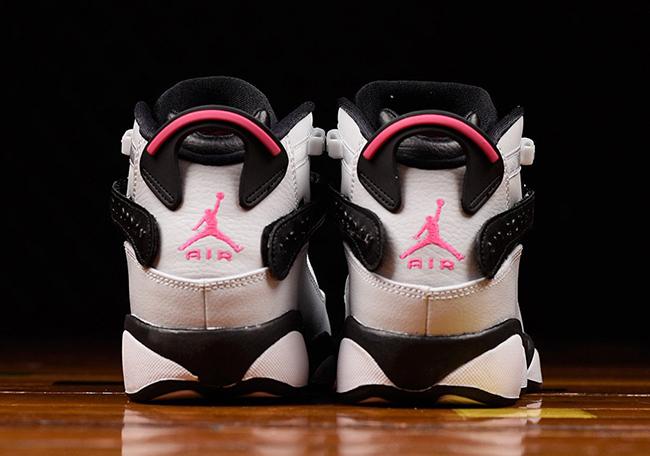 Jordan Six Rings Pink Flash