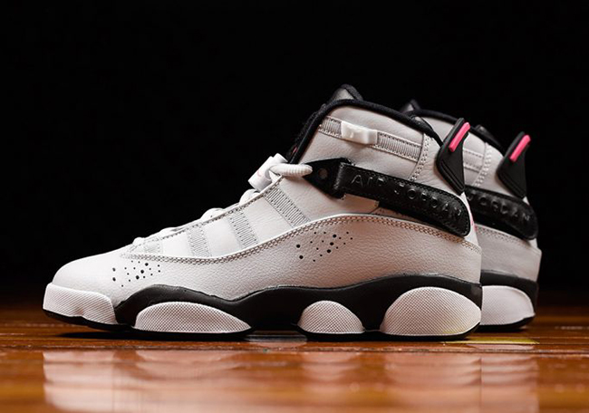 Jordan Six Rings 'Pink Flash' Available Now