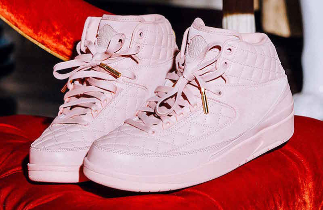 Just Don C Air Jordan 2 Pink Arctic Orange