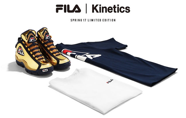 Kinetics Fila 96 Metallic Gold Release Date