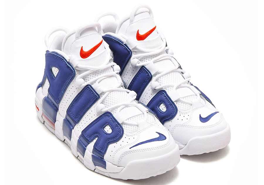 Knicks Nike Air More Uptempo 415082-103